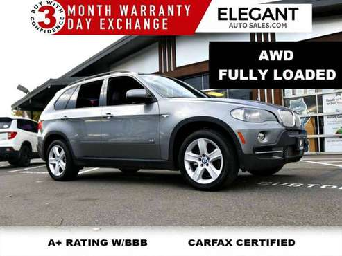 2008 BMW X5 4.8i - AWD LEATHER NAV PANOROOF SUV All Wheel Drive for sale in Beaverton, OR