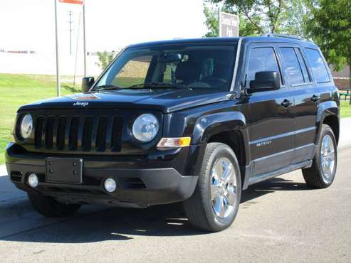 2014 JEEP PATRIOT HIGH ALTITUDE! 4 CYL AUTOMATIC! LEATHER! ONE OWNER! for sale in El Paso, NM