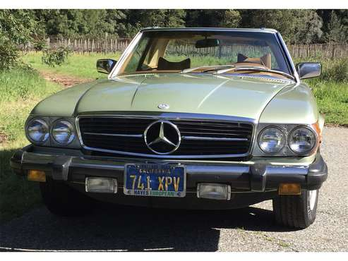 1979 Mercedes-Benz 450SL for sale in Santa Cruz, CA