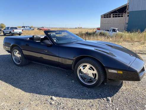 1989 Chevrolet Corvette Convertible - cars & trucks - by owner -... for sale in Billings, MT