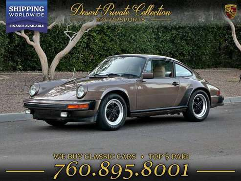 The BEST 1983 Porsche 911sc Coupe for your money! for sale in Palm Desert, NY