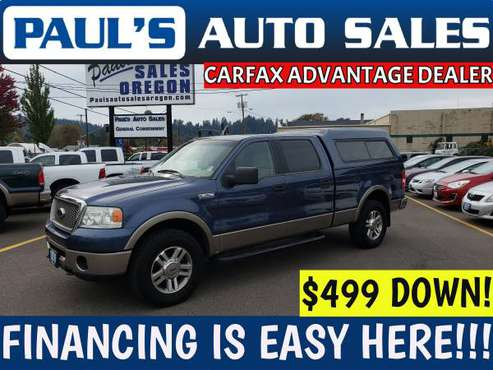 2006 FORD F-150 SUPERCREW LARIAT 4X4 **GREAT CONDITION!** for sale in Eugene, OR