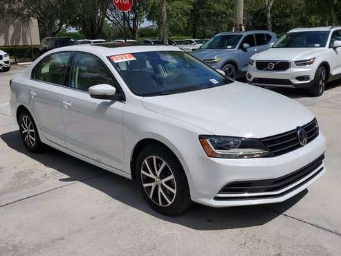 2017 *Volkswagen* *Jetta* *1.4T SE Automatic* PURE W - cars & trucks... for sale in Coconut Creek, FL