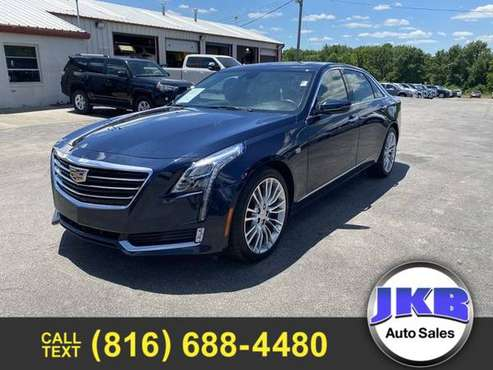 2017 Cadillac CT6 3.6 Luxury Sedan 4D - cars & trucks - by dealer -... for sale in Harrisonville, MO