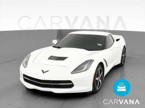 2015 Chevy Chevrolet Corvette Stingray Coupe 2D coupe White -... for sale in Greensboro, NC