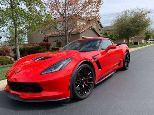 2019 Corvette Z06 7speed manual 3k miles CLEAN TITLE IN HAND MINT Z 06 for sale in Chico, CA