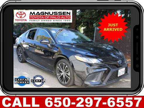 2018 Toyota Camry Hybrid Se for sale in Palo Alto, CA