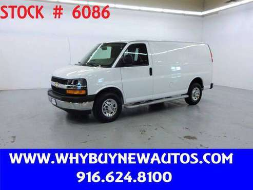 2018 Chevrolet Chevy Express 2500 ~ Only 7K Miles! for sale in Rocklin, CA