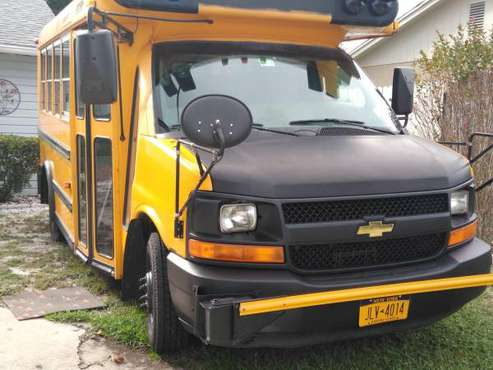2006 Chevy Express 3500 Diesel School Bus for sale in Deltona, FL