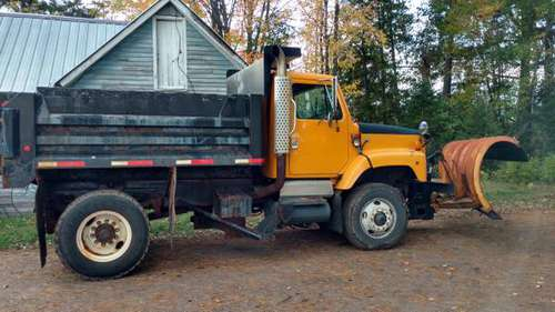 1998 International Dump truck with 12' Snow plow for sale in Hinckley, MN