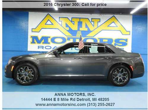 2016 CHRYSLER 300S AWD,PAYMENT STARTING@$299*PER MONTH-STOP BY OR CALL for sale in Detroit, MI