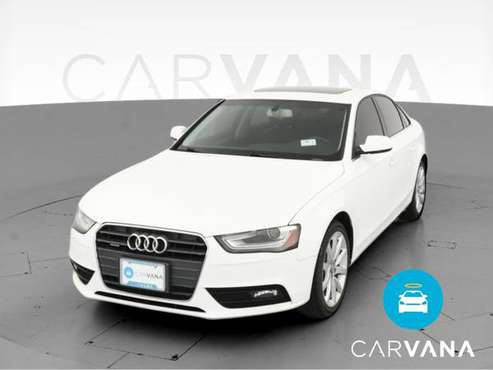 2013 Audi A4 Premium Plus Sedan 4D sedan White - FINANCE ONLINE -... for sale in Philadelphia, PA