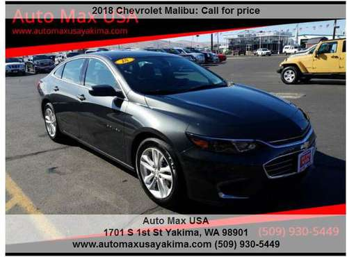 2018 Chevrolet Malibu LT PRICED TO SELL!!!!! for sale in INTERNET PRICED CALL OR TEXT JIMMY 509-9, WA