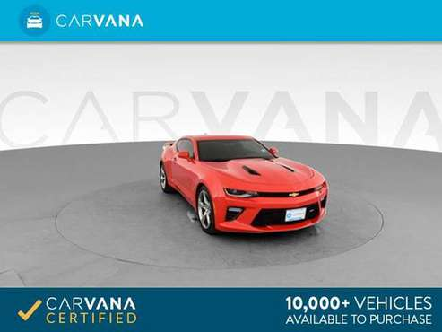 2017 Chevy Chevrolet Camaro SS Coupe 2D coupe RED - FINANCE ONLINE for sale in Charleston, SC