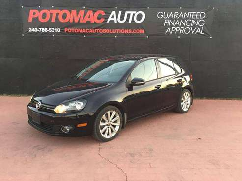 2012 VOLKSWAGEN GOLF --GUAR. FINANCING APPROVAL! for sale in Laurel, MD