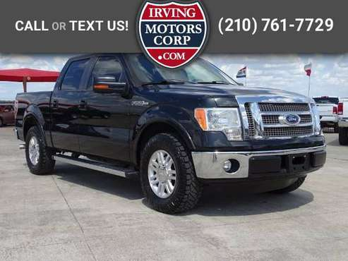2012 Ford F-150 Lariat SuperCrew 5.5-ft. Bed 2WD for sale in San Antonio, TX