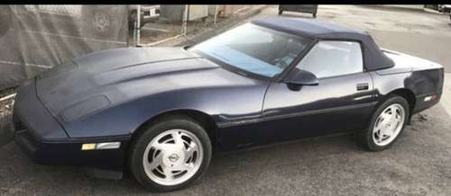 BLUE CORVETTE CONVERTIBLE OVER $5K IN NEW ITEMS NEEDS TRANS REBUILT for sale in San Diego, CA