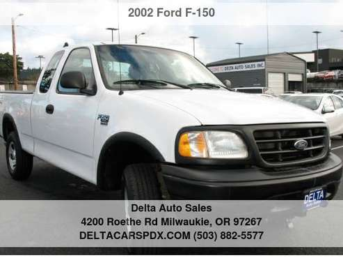 "2002 Ford F-150 Supercab 139"" XL 4WD 49Kmiles 1 Owner NEW TIRES -... for sale in Milwaukie, OR"