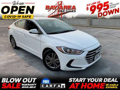 2018 Hyundai Elantra SEL 4dr Sedan (US) - cars & trucks - by dealer... for sale in San Jose, CA