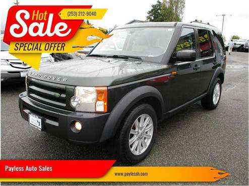 2008 Land Rover LR3 SE 4x4 4dr SUV for sale in Lakewood, WA