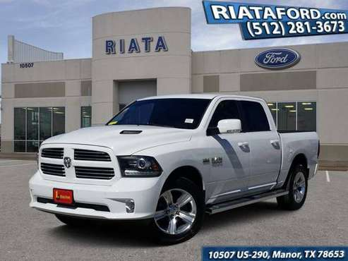 2014 Ram 1500 Bright White Clearcoat Sweet deal*SPECIAL!!!* for sale in Manor, TX