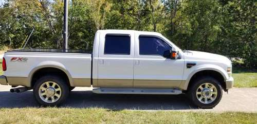 F250 King Ranch Oxford White 2010 for sale in Newport, OH