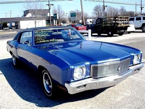 1971 Chevrolet Monte Carlo for sale in Stratford, NJ