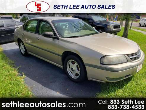 2002 Chevrolet Impala for sale in Tavares, FL