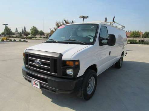 2013 FORD E-250 EXTENDED VAN CARGO for sale in Oakdale, CA
