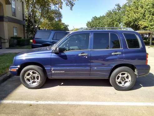 2001 Chevy tracker Geo 4cylinder 142miles for sale in Houston, TX