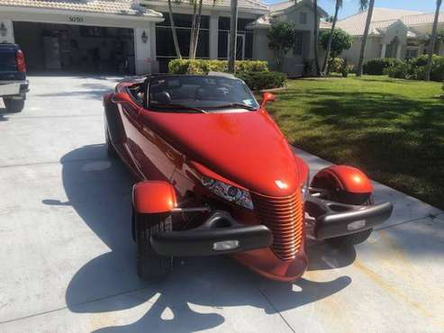 2001 PLYMOUTH PROWLER for sale in Punta Gorda, FL