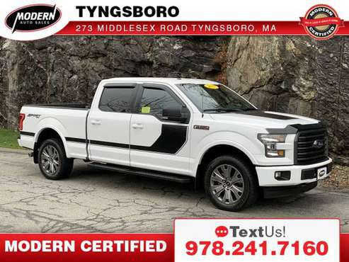 2017 Ford F-150 XLT - cars & trucks - by dealer - vehicle automotive... for sale in Tyngsboro, NH