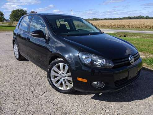 2012 Volkswagen Golf TDI 6 Speed Black - Gorgeous ! - Bargain ! for sale in Saint Joseph, MO