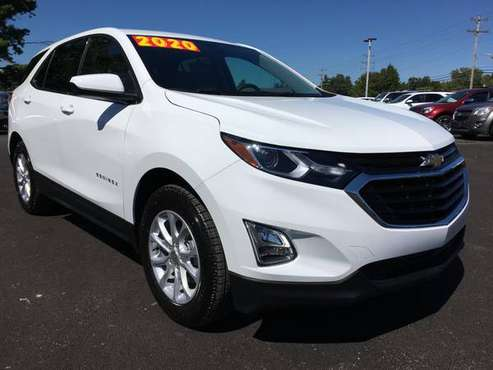 2020 CHEVY EQUINOX LT FWD (509371) for sale in Newton, IL