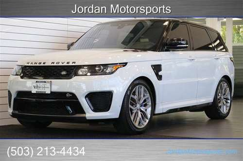 2017 RANGE ROVER SPORT SVR 119K MSRP PRO PKG 2018 2016 autobiography for sale in Portland, OR