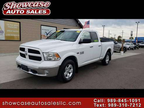"SHARP!!! 2013 RAM 1500 4WD Quad Cab 140.5"" Outdoorsman for sale in Chesaning, MI"