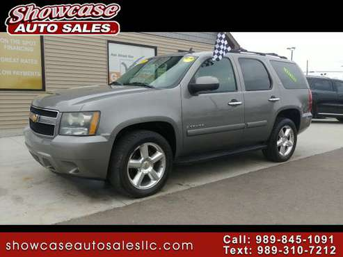 **4X4**2007 Chevrolet Tahoe 4WD 4dr 1500 LTZ for sale in Chesaning, MI