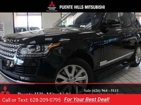2016 Range Rover HSE Supercharged *Navi*LowMiles*Warranty* for sale in City of Industry, CA