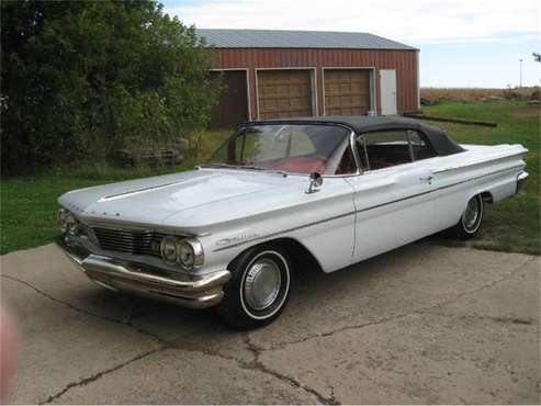 1960 Pontiac Catalina for sale in Cadillac, MI