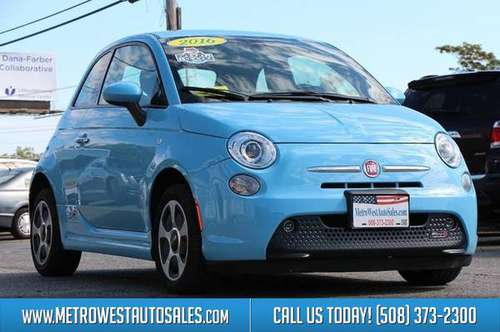 2016 FIAT 500e Base 2dr Hatchback for sale in Worcester, MA