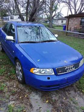 2001 Audi b5 s4 Nogaro blue on nogaro interior ROLLING CHASSIS for sale in Delray Beach, FL