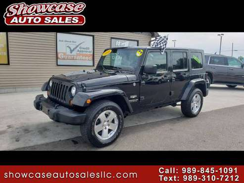 LEATHER 2008 Jeep Wrangler 4WD 4dr Unlimited Sahara for sale in Chesaning, MI