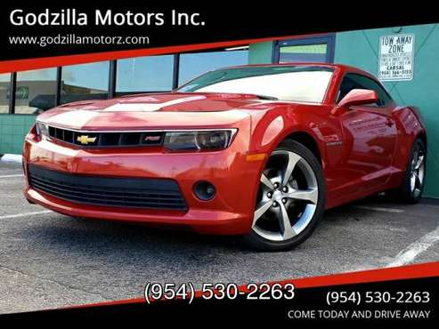 2014 Chevrolet Camaro LT 2dr Coupe w/1LT for sale in Ft Lauderdale , FL