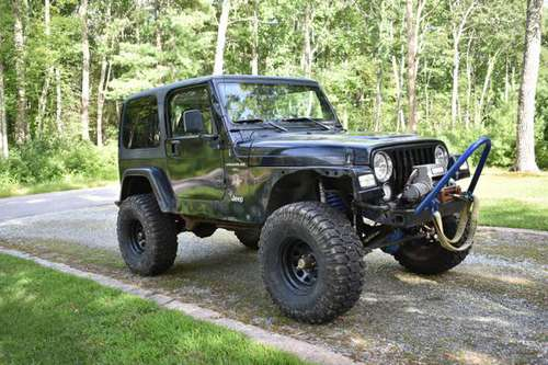 99 Jeep Wrangler TJ for sale in Voluntown, CT