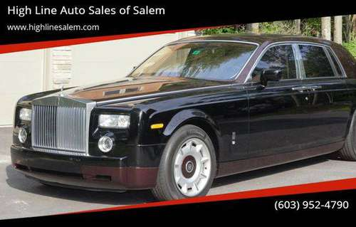 2004 Rolls-Royce Phantom Base 4dr Sedan EVERYONE IS APPROVED! for sale in Salem, MA