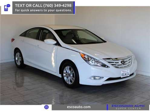 2013 Hyundai Sonata GLS Sedan - cars & trucks - by dealer - vehicle... for sale in Escondido, CA