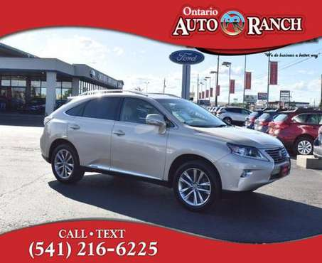 2013 Lexus RX 450H 450h for sale in Ontario, ID
