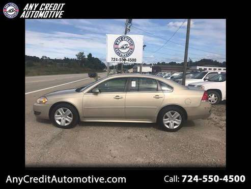 2010 Chevrolet Impala LT for sale in Uniontown, PA