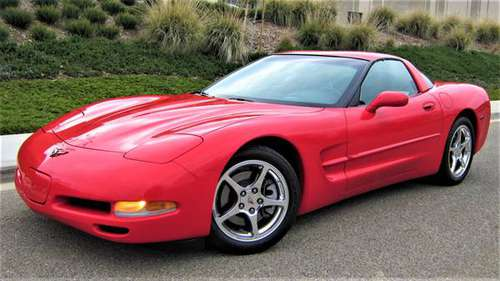 2004 CHEVY CORVETTE TARGA (1 OWNER, ONLY 16K ORIGINAL MILES,5.7L,6SPD) for sale in Westlake Village, CA