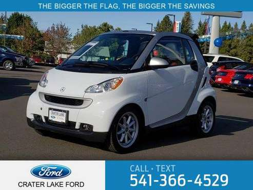 2010 Smart fortwo 2dr Cabriolet Passion for sale in Medford, OR